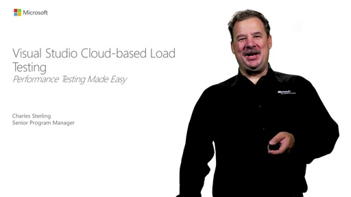 Visual Studio Cloud-based Load Testing