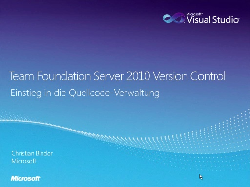 Team Foundation Server 2010 Version Control