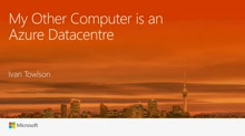 My other computer is an Azure datacentre – taking advantage of cloud scale