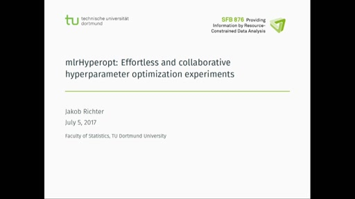 mlrHyperopt: Effortless and collaborative hyperparameter optimization experiments