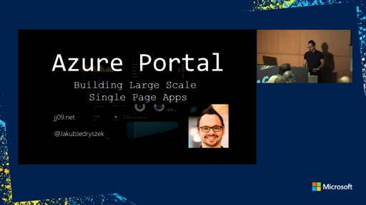 Azure Portal – building large scale Single Page Applications