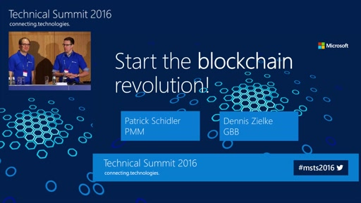 Start the Blockchain Revolution