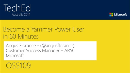 How to Become a Yammer Power User in 60 Minutes