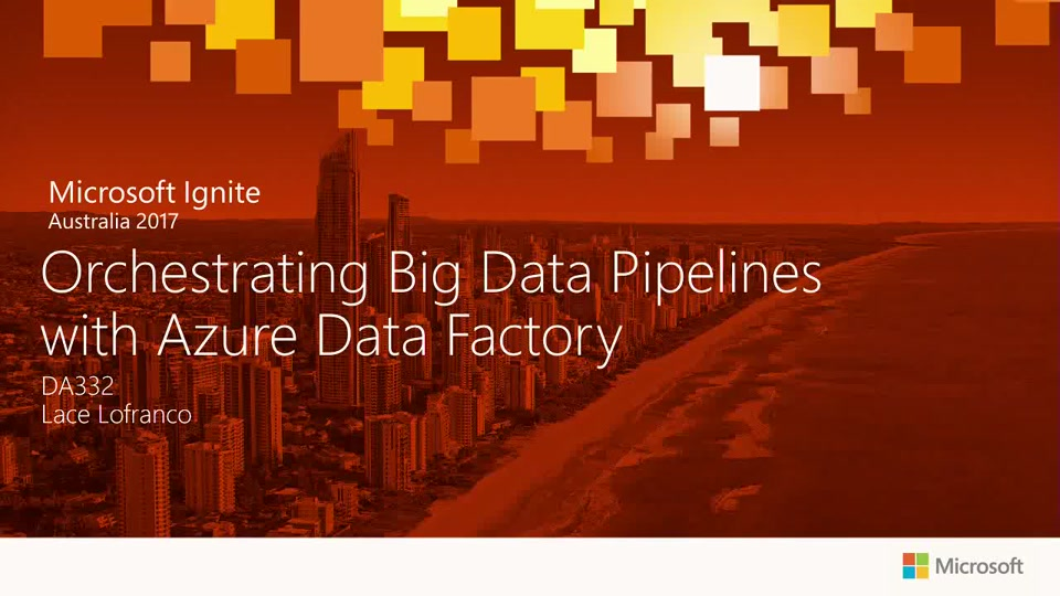 Orchestrating Big Data Pipelines with Azure Data Factory