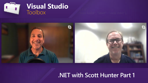 .NET with Scott Hunter Part 1