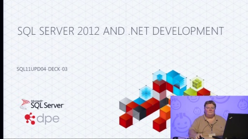 Presentation: What's New in .NET 4.0 and SQL Server 2012