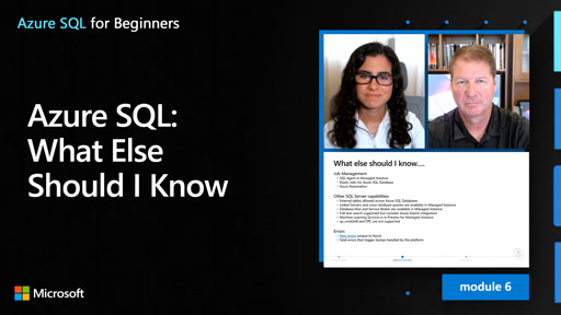 Azure SQL: What Else Should I Know (59 of 61)
