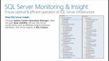 Virtualizing & Managing SQL Server with the Microsoft Cloud OS: (05) Comprehensive Management