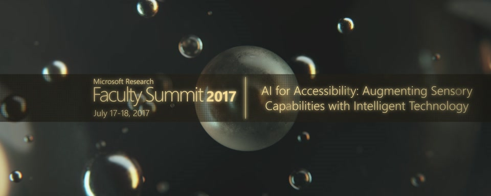 Video Abstract: AI for Accessibility: Augmenting Sensory Capabilities with Intelligent Technology