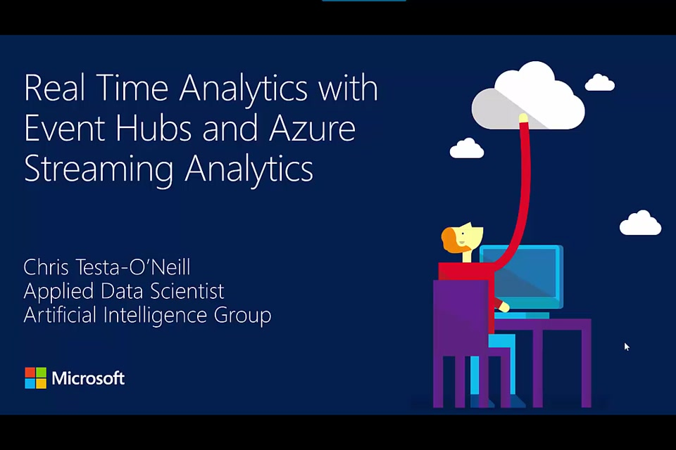 Lab: Twitter Sentiment Analysis with Streaming Analytics and Event Hubs