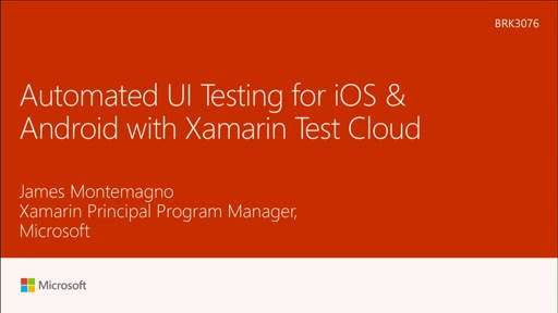 Create UI automated testing for iOS and Android Mobile Apps with Xamarin Test Cloud