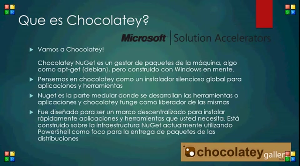 Probando Chocolatey en Windows 10