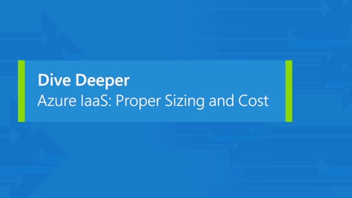 Azure IaaS: proper sizing and cost
