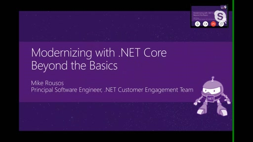 Modernizing .NET Applications with .NET Core - Beyond the Basics