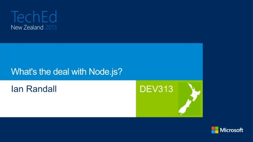 What's the deal with Node.js?
