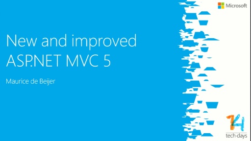 New and improved ASP.NET MVC 5