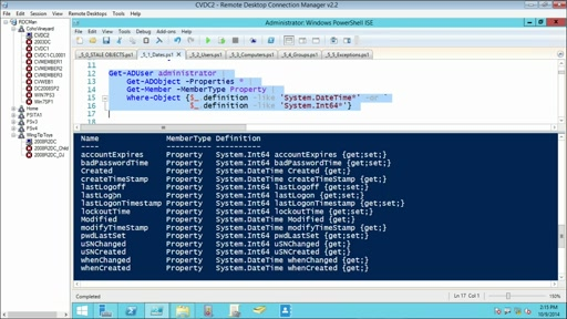Using PowerShell for Active Directory: (05) Stale Object Cleanup