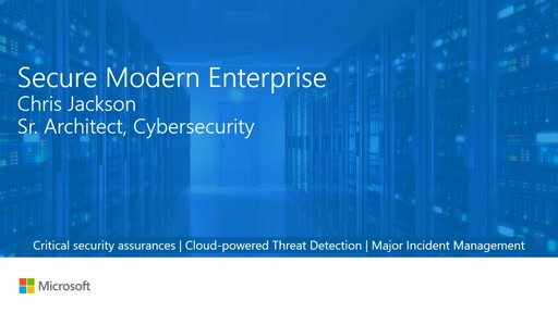 The Secure, Modern Enterprise