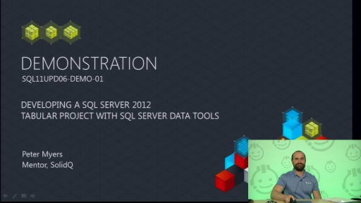 Demo: Developing a SQL Server 2012 Analysis Services Tabular Project