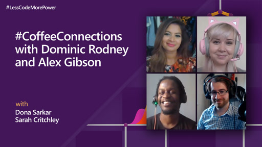 #CoffeeConnections with Dominic Rodney and Alex Gibson