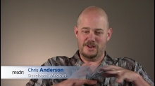 Chris Anderson: Windows 8 New User Interface Standards