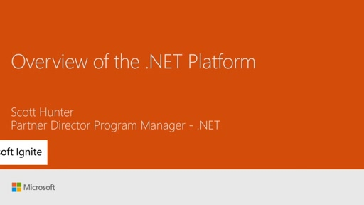 Get an overview of the .NET Platform
