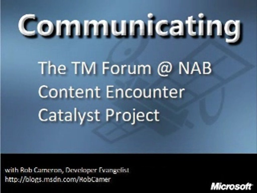 The TM Forum at NAB