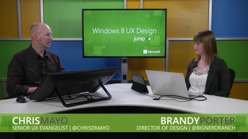 Windows 8 UX Design: (03) Navigation