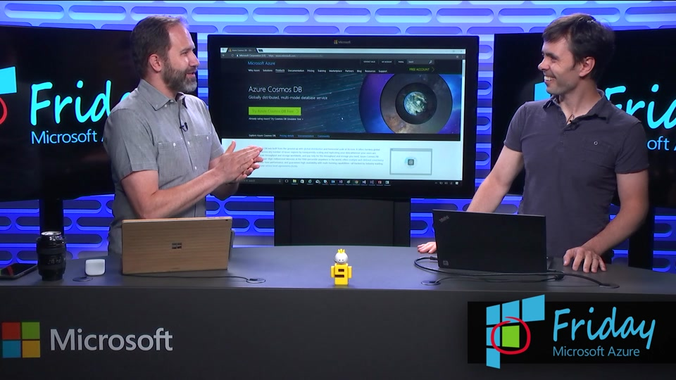 Try Azure Cosmos DB for Free