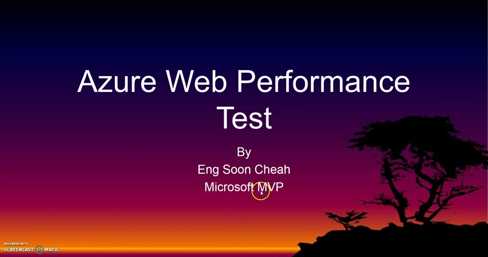 Web Performance Test