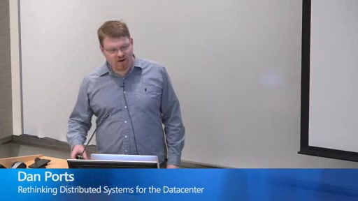 Rethinking Distributed Systems for the Datacenter