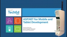 ASP.NET for Mobile and Tablet Development