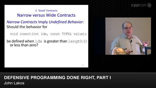 Defensive Programming Done Right, Part I