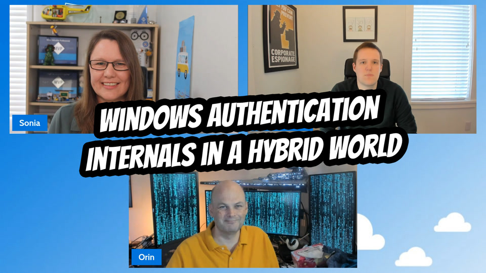 OPS108 Windows Authentication in a Hybrid World