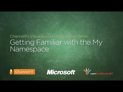 Getting Familiar with the My Namespace - 24