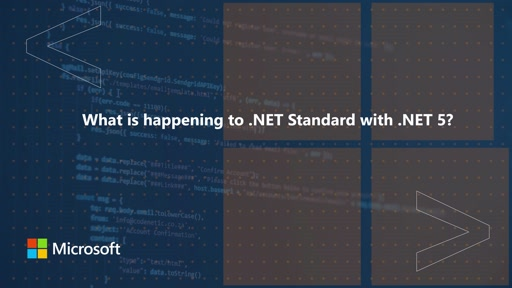 What is happening to .NET standard with .NET 5? | One Dev Question