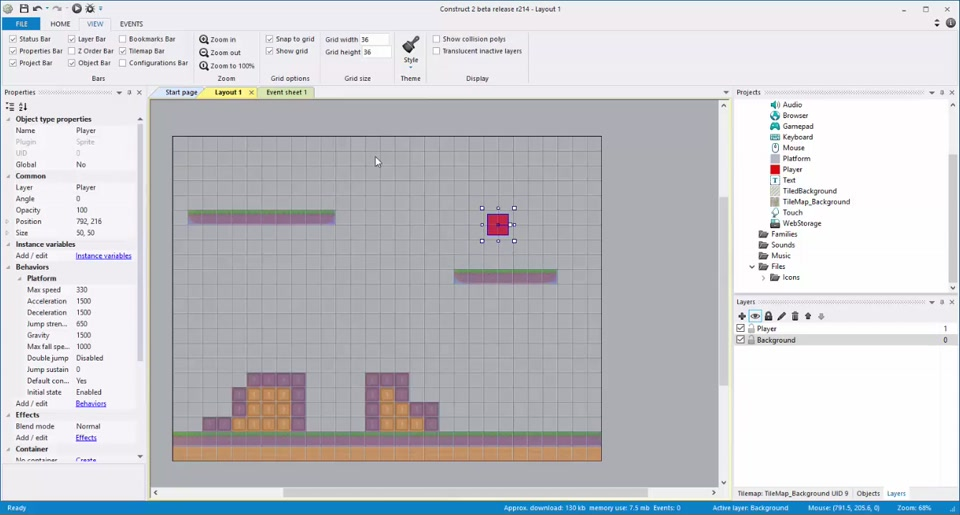 Gaming in the Cloud (6) - Tilemaps and Layers