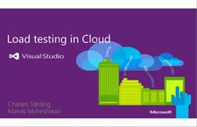 Cloud Load Testing Service with Visual Studio Online