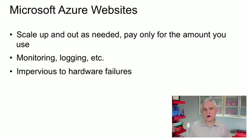Microsoft Azure Fundamentals: Websites: (02) Understanding Your Website Hosting Options: Azure Websites vs. Cloud Services vs. Virtual Machines