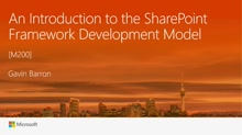 An Introduction to the SharePoint Framework Development Model