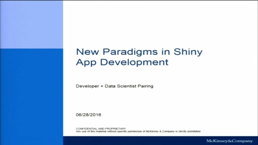 New Paradigms In Shiny App Development: Designer + Data Scientist Pairing