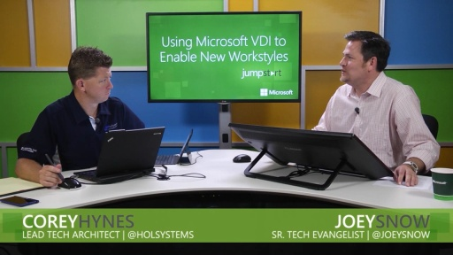 Using Microsoft VDI to Enable New Workstyles: (02) Optimizing the User Experience