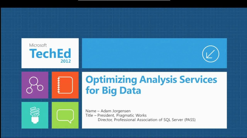 Optimizing Microsoft SQL Server Analysis Services for Big Data