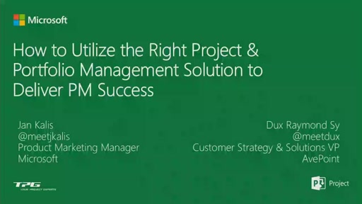 How to Utilize the Right Project & Portfolio Management Solution to Deliver PM Success