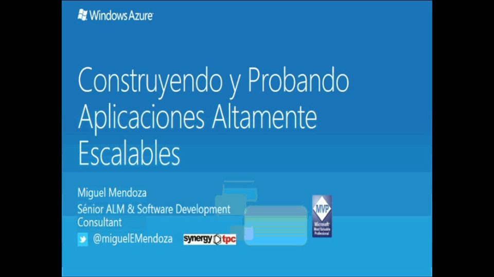 Desarrollo de aplicaciones escalables y como probarlas con Visual Studio Ultimate