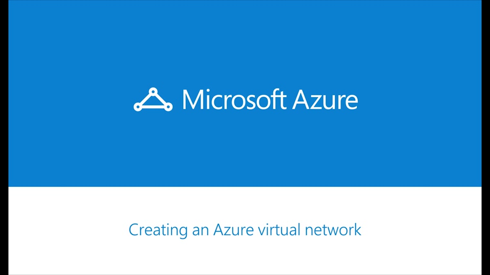 Azure ExpressRoute - How to create a Virtual Network