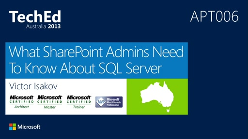 What SharePoint DBAs Need to Know About SQL Server
