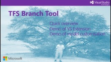 Quick tour of the TFS Branch Tool VS Extension