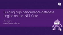 High performance servers with .NET Core