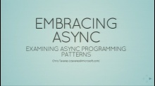 Embracing Async Programming